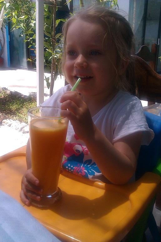co zje dziecko na Kos w Grecji