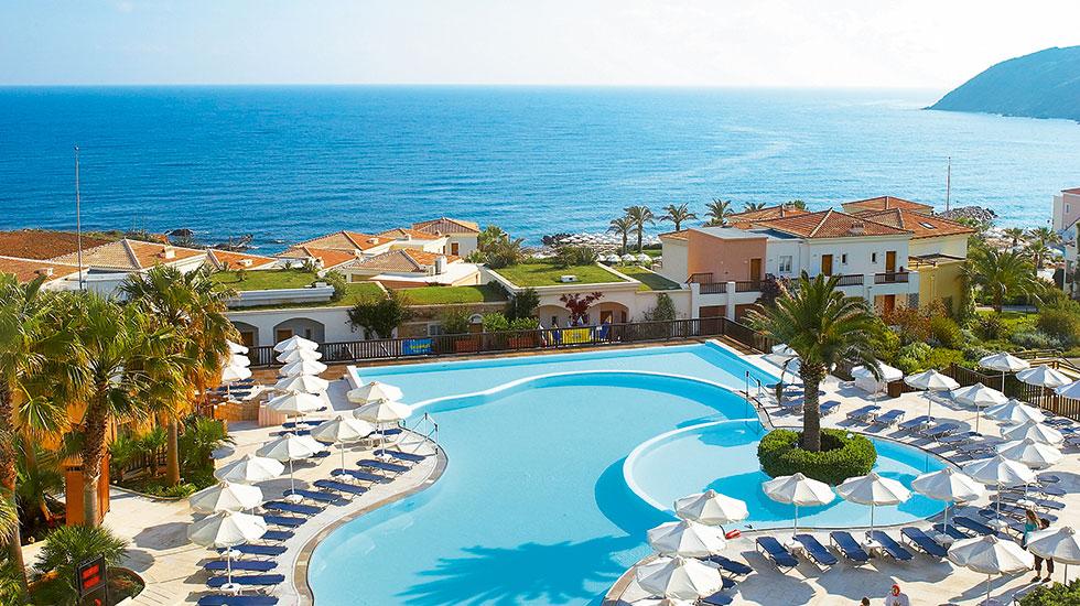 hotele dla dzieci Panormo Grecja