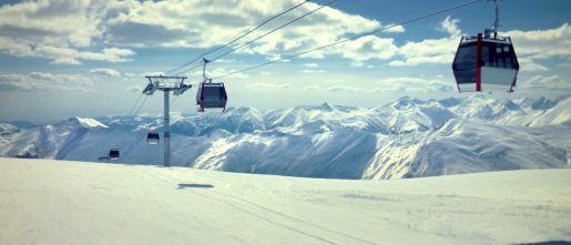 atrakcje dla dzieci narty Gruzja