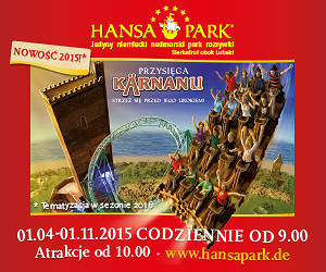 Rodzinne atrakcje - Hansa Park