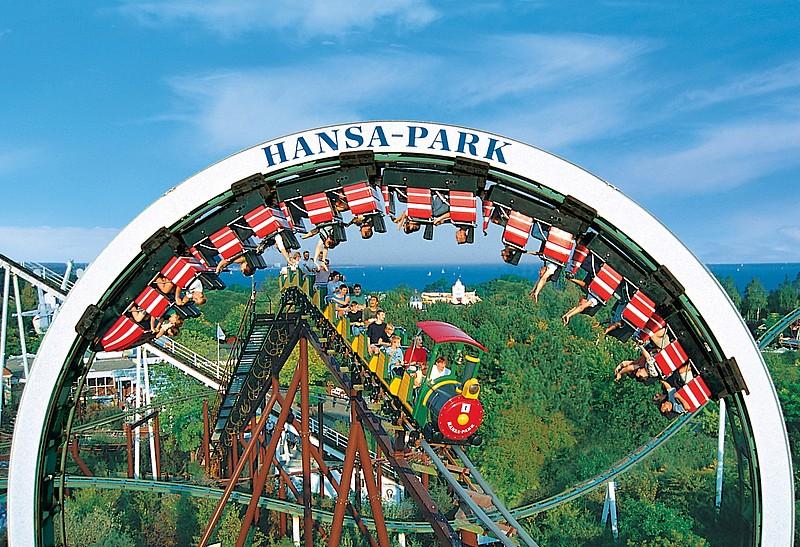 niezwykłe parki rozrywki Hansa Park