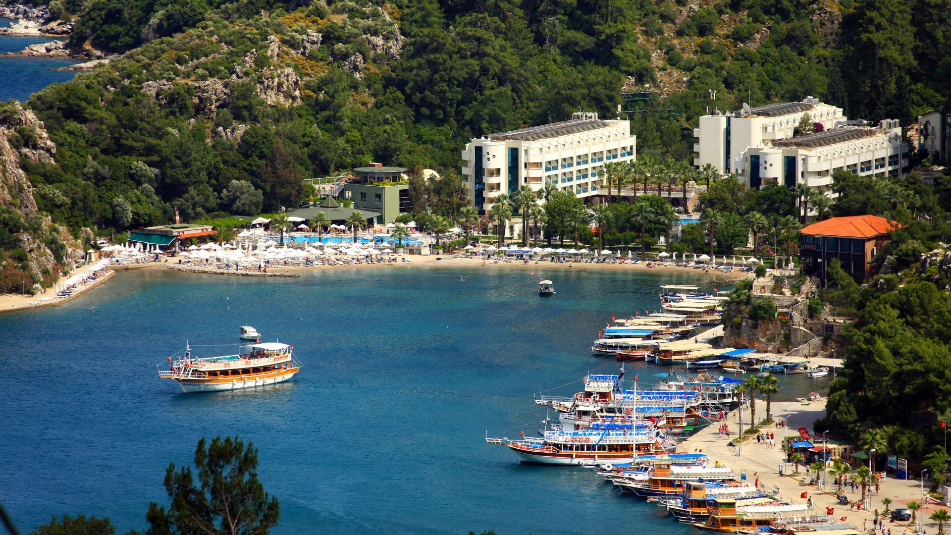hotel dla dzieci Turunc Marmaris Turcja