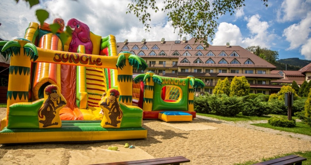 hotel z atrakcjami dla dzieci Wisła Beskidy opinie