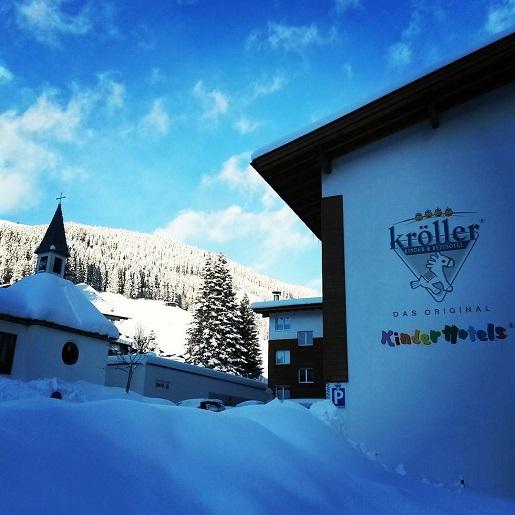 hotel z atrakcjami dla dzieci austria alpy narty