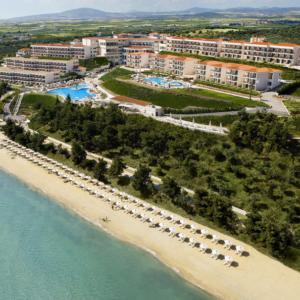 najlepsze rodzinne hotele Grecja Nea Moudania