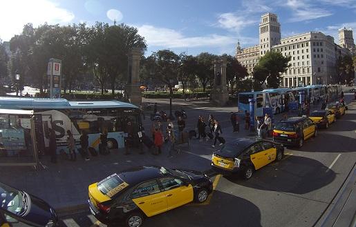 ile kosztują taksówki w Barcelonie