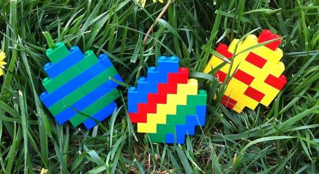 konkurs LEGO klocki Wielkanoc Pisanka