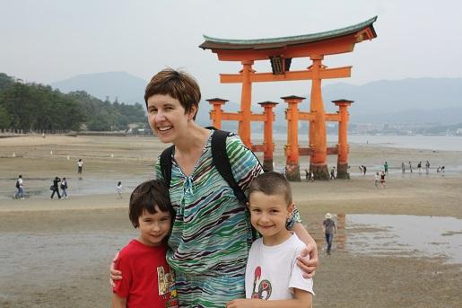 azja z dziećmi - Japonia