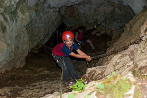 jaskinie z dzieckiem