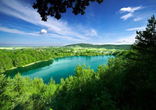 jezioro turkusowe Wapnica atrakcje zachodniopomorskie