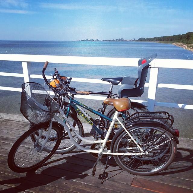 molo Jurata rowery