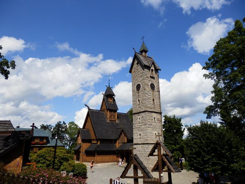 Kościół Wang Karpacz rodzinne atrakcje