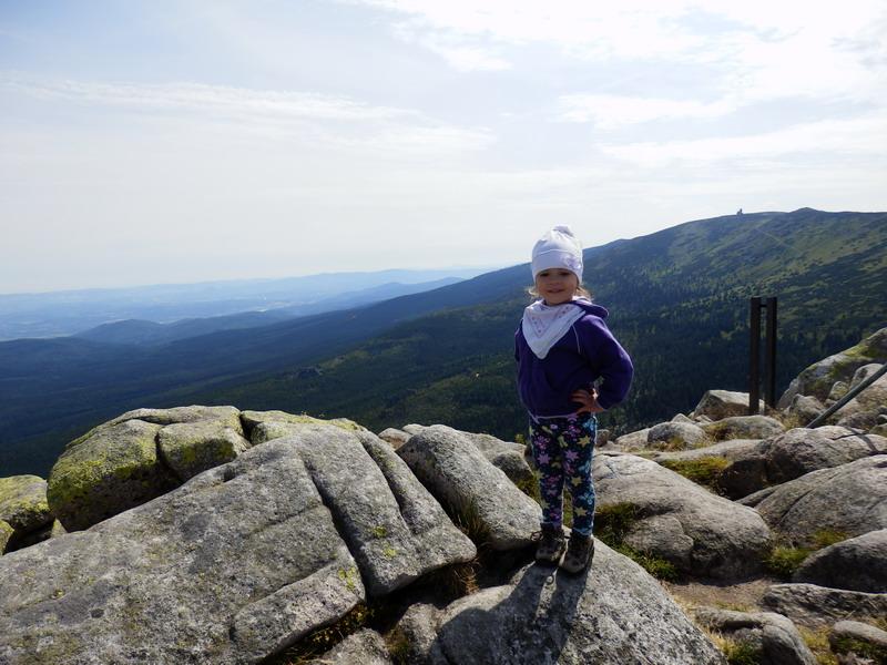 góry z dzieckiem Karkonosze