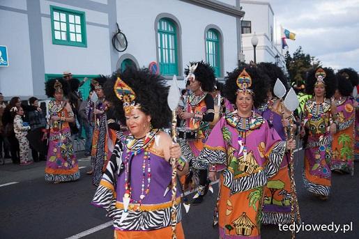 karnawał Lanzarote Wyspy Kanaryjskie opinie atrakcje