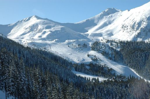 dolina gąsienicowa trasa narciarska Tatry