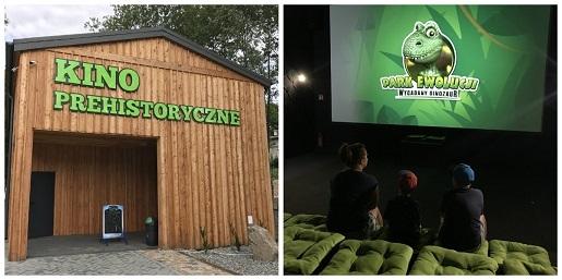 kino prehistoryczne park ewolucji atrakcje sławutówko