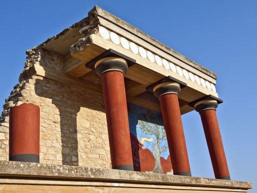 pałac w Knossos Kreta atrakcje dla dzieci