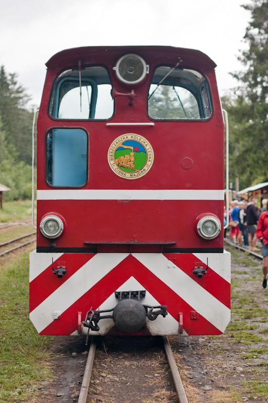 Bieszczady Cisna atrakcje dla dzieci kolejka wąskotorowa