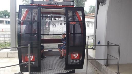 kolejka Polinka nad Odrą przejazdy atrakcja