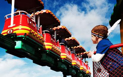 atrakcje Miniland w Legoland Dania
