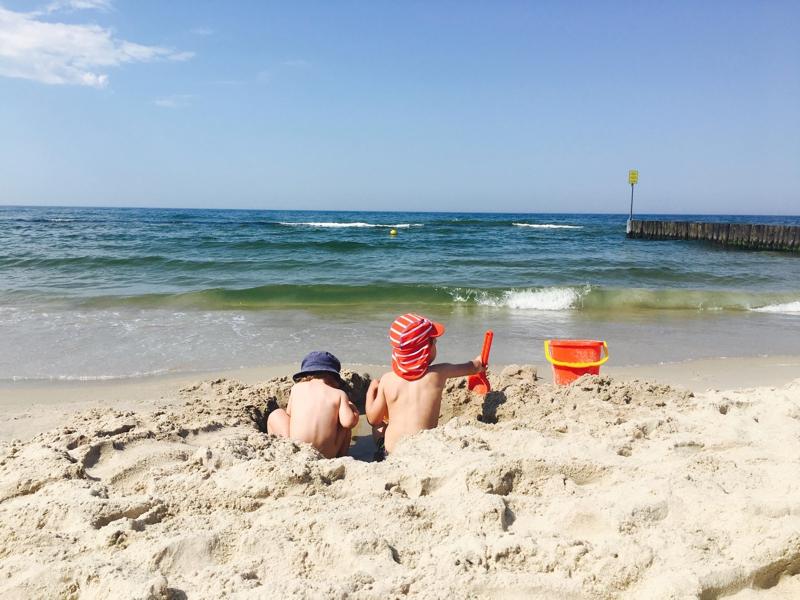 plaża Kołobrzeg rodzinne atrakcje
