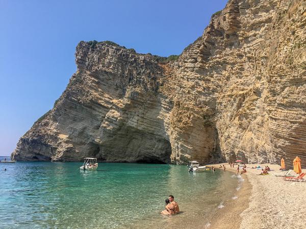 Korfu plaże atrakcje dla dzieci