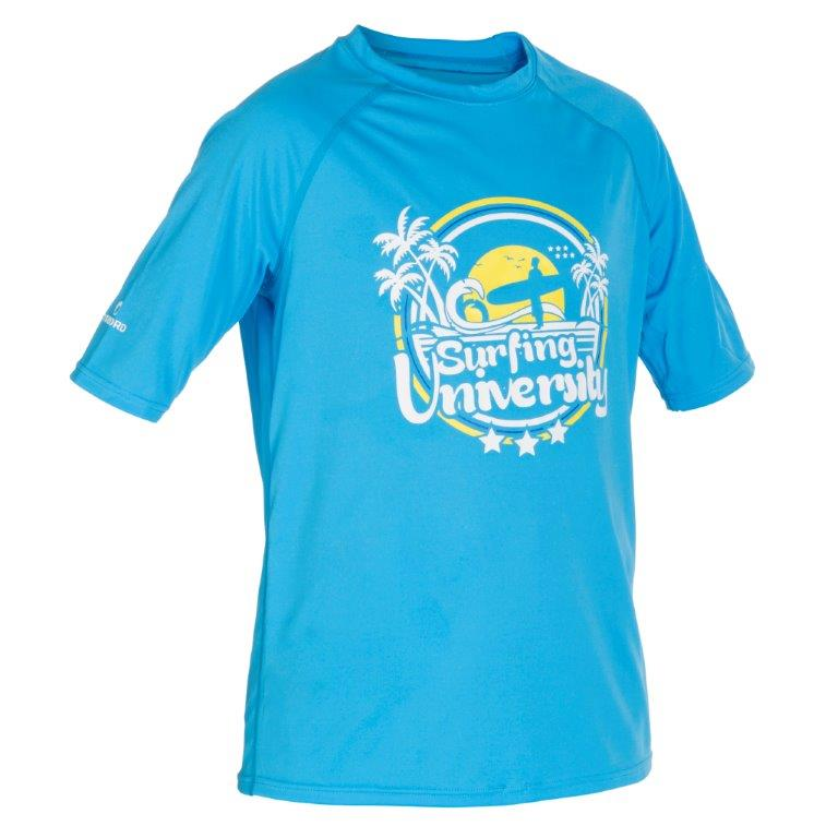 Koszulka UV dla dzieci na plażę i do pływania