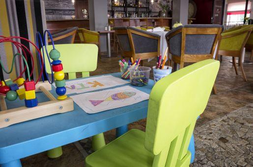 Hotel dla dzieci La Siesta nad morzem