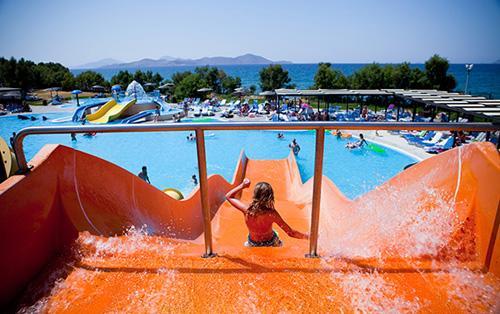 hotele z parkiem wodnym Grecja