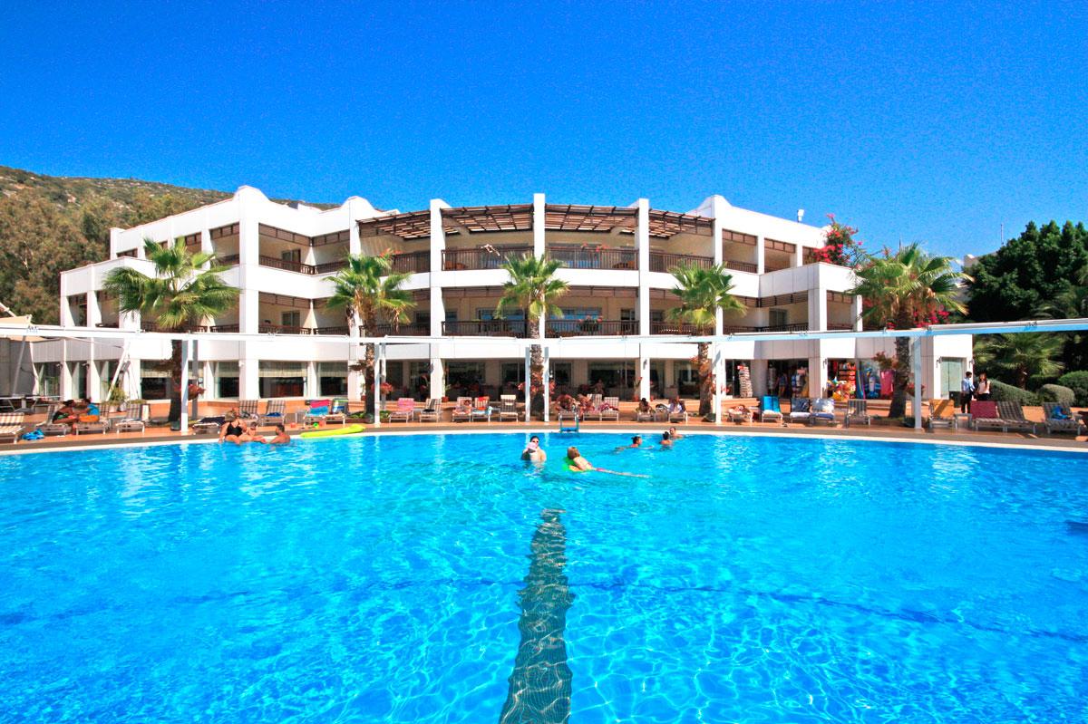 hotel rodzinny latanya beach Turcja Bodrum