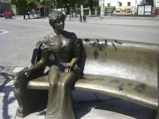 Pszczyna rodzinne atrakcje pomnik Księżna Daisy