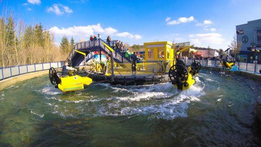 Legoland Niemcy opinie aquazone wave racers