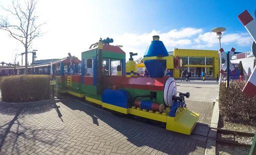 Legoland Niemcy opinie ciuchcia Lego
