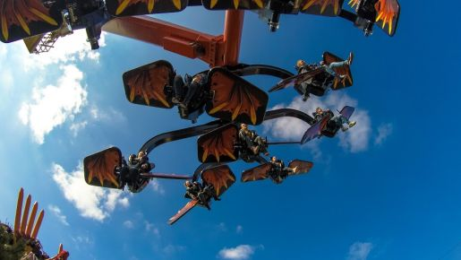 Legoland Niemcy opinie Flying Ninjago