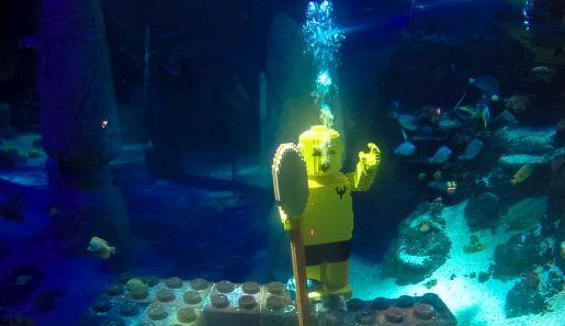 Legoland Niemcy atrakcje Atlantis by Sea Life