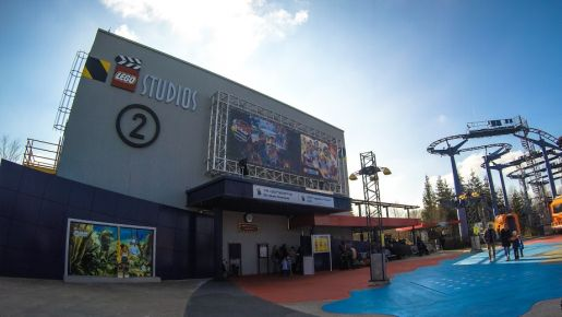 Legoland Niemcy atrakcje Cinema 4 D