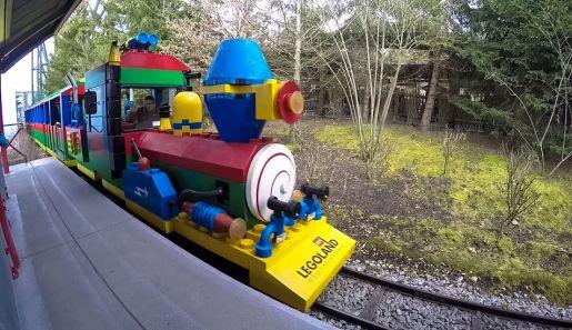 Legoland Niemcy atrakcje Legoland Express