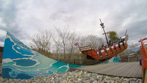 Legoland Niemcy atrakcje Szkoła Piratów