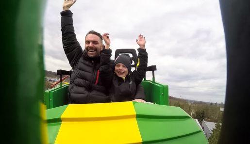 Legoland Niemcy opinie Fire Dragon