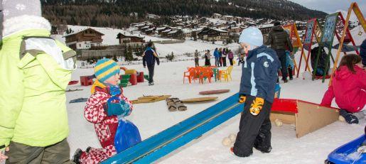atrakcje dla dzieci narty Włochy