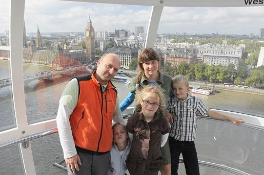 londyn blog podróże z dzieckiem