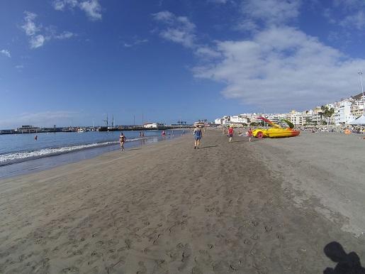 Los Cristianos Plaża Teneryfa