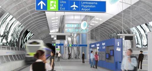 Dojazd na lotnisko Helsinki czas cena pociągi autobusy