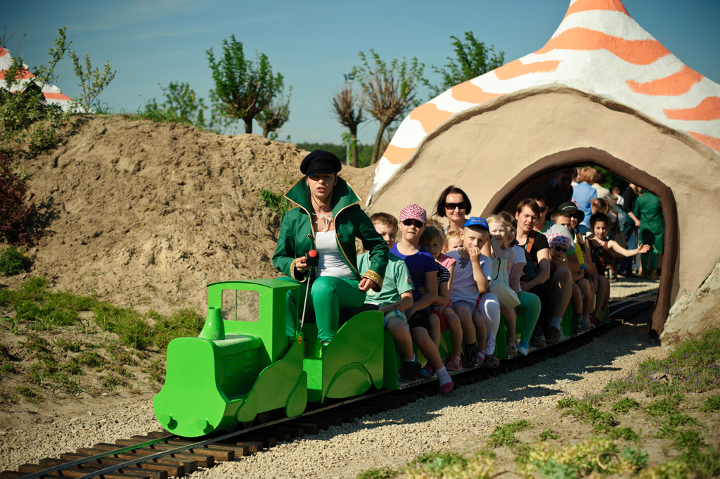 rodzinny park rozrywki Janowiec