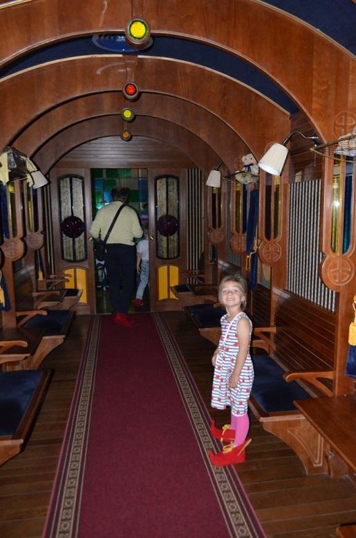 magiczny pociąg Pacanów atrakcje dla dzieci