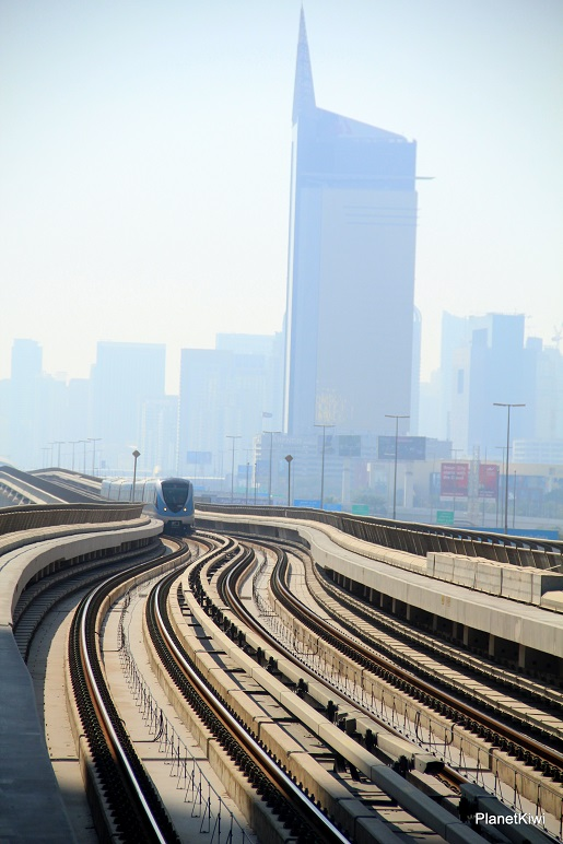 metro Dubaj transport opinie