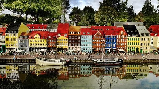 Miasto z klocków -LEGOLAND DANIA Billund opinie atrakcje