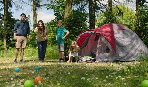 miejsca na namiot camping LEGOLAND Billund opinie