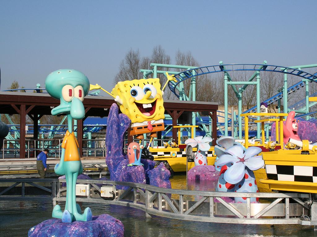 rodzinne atrakcje movie park Bottrop