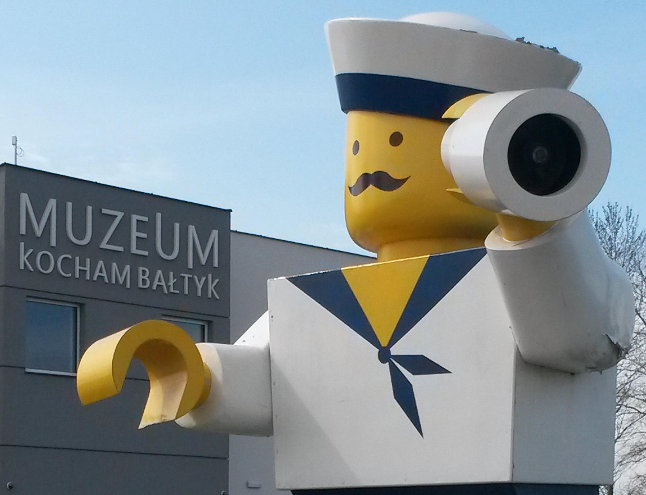 muzeum kocham bałtyk swarzewo wystawa lego